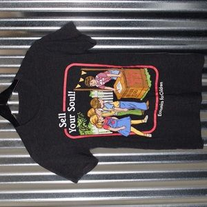 """Tops - """"sell your soul"""" graphic t-shirt"""